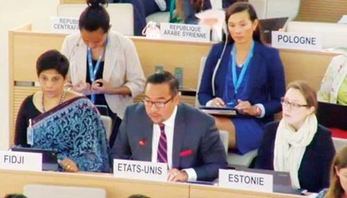 Keith Harper, Đại sứ Mỹ tại Liên Hợp Quốc,