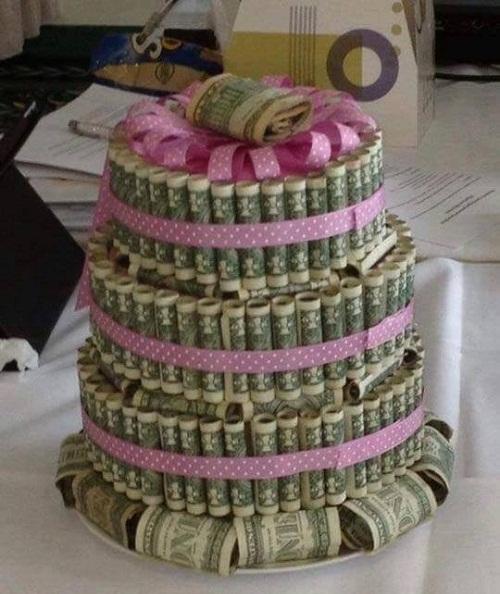 Bánh sinh nhật trong mơ.
