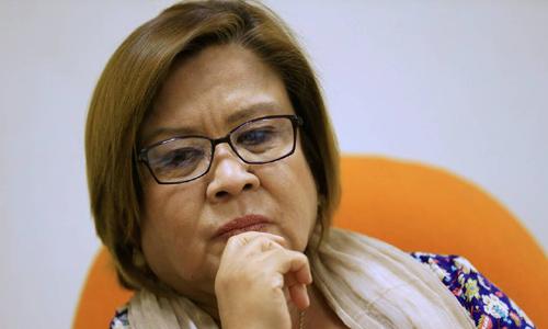Bà Leila De Lima. Ảnh: Reuters