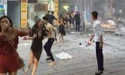 Cô gái dùng áo ngực thoát khỏi đám cháy quán karaoke 8 tầng