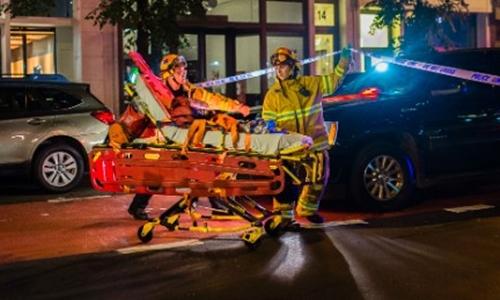 Vụ nổ ở New York cuối tuần trước làm 29 người bị thương. Ảnh: CNN.