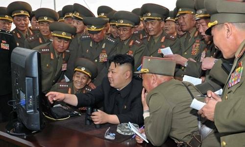 Một kỹ sư an ninh mạng cho phát hiện Triều Tiên chỉ có 28 trang web. Ảnh minh họa: KCNA.