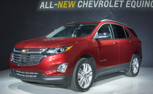 Chevrolet giới thiệu mới vũ khí 3 của Equinox tại Mỹ