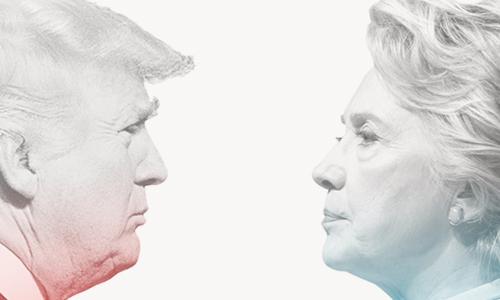 Phản ứng của hai chính đảng Mỹ sau cuộc tranh luận trực tiếp. Đồ họa: Việt Chung.