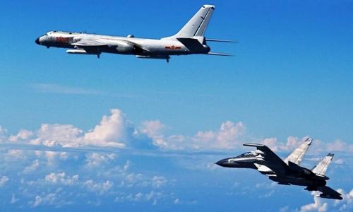 Chuyên gia Trung Quốc nói không quân đủ sức chống lại Mỹ ở Biển Đông
