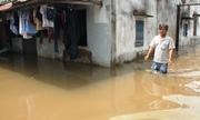 Bốn ngày sống trong nước ngập sau trận mưa lịch sử