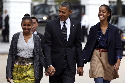 Obama tự hào nếu con gái nhập ngũ