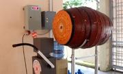 Thầy giáo miền Tây sáng chế robot đánh trống trường