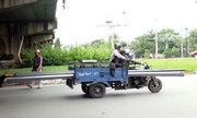 CSGT bắt hàng trăm xe thô sơ, tự chế ở Sài Gòn