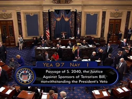 Nỗi hối hận của các nghị sĩ Mỹ bác quyền phủ quyết luật 11/9 của Obama - ảnh 3