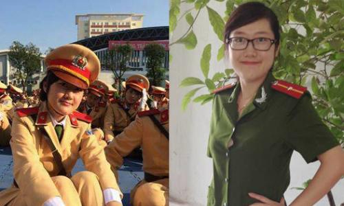 Nghẹn lòng ngắm nhìn hình ảnh rạng ngời của Thiếu úy Đậu Thị Huyền Trâm: RIP