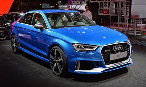 01 2018 audi rs3 sedan paris 1 6723 1475546825 Audi RS3 Quattro đời mới có đường nét thể thao hơn trước