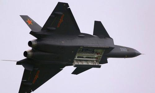 Tiêm kích tàng hình thế hệ 5 J-20. Ảnh: Defence Aviation