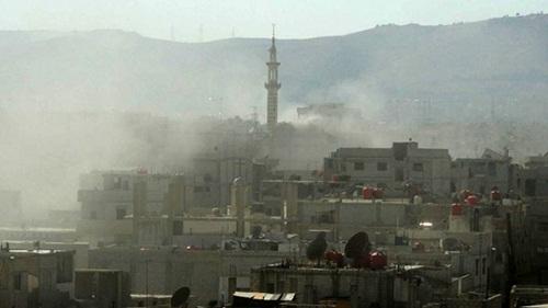 Khung cảnh thành phố Damascus. Ảnh: Reuters