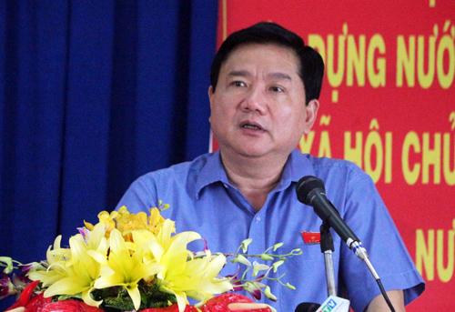 Ông Đinh La Thăng: 'Vụ Trịnh Xuân Thanh sẽ được xử nghiêm'