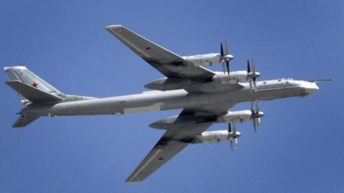 Một máy bayTu-95. Ảnh: AFP