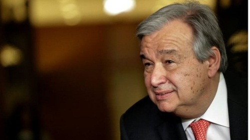 Antonio Guterres led the UNHCR through the major crises in Syria, Iraq and Afghanistan