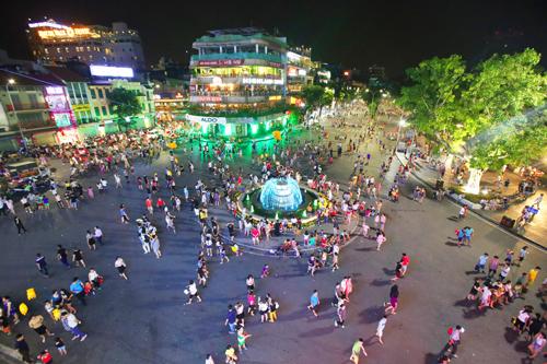 Hà Nội chưa mở rộng không gian đi bộ trong phố cổ