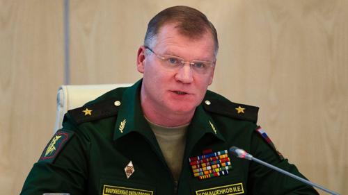 phát ngôn viên Bộ Quốc phòng Nga Igor Konashekov