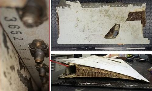 Malaysia xác nhận thông tin tìm thấy mảnh vỡ cánh máy bay MH370. Ảnh: AFP.