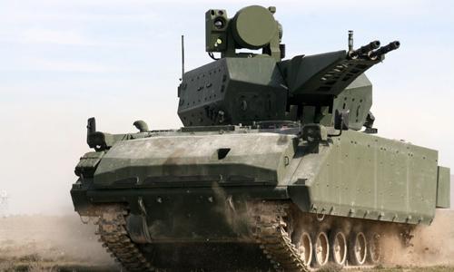 Pháo 35 mm của hệ thống Korkut của có thể khai hỏa 1100 viên/ phút. Ảnh: Defense Blog
