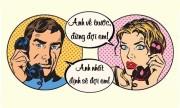Vợ tức giận vì chồng luôn chờ đợi