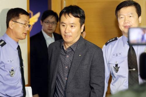 Ông Ju Gi-chung, phó tổng lãnh sự Trung Quốc tại trụ sở tuần duyên Hàn Quốc ở thành phố Incheon. Ảnh: Yonhap