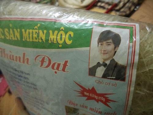 Tài tử Hàn Quốc sang Việt Nam kinh doanh miến mộc.
