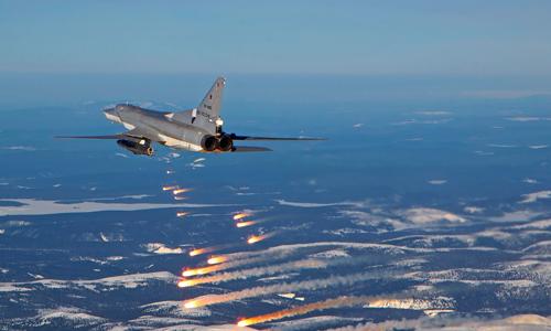 Tu-22M3 từng được coi là sát thủ diệt tàu sân bay đáng gờm đối với Mỹ.  Ảnh:Vadim