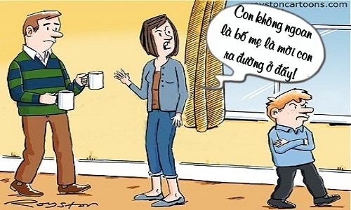 Bố mẹ choáng váng trước câu trả lời của con trai