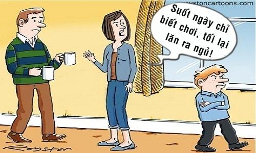 Bà mẹ bất bình trước sự thay đổi của con trai