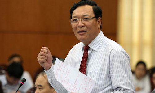 Cựu Bộ trưởng Phạm Vũ Luận làm giảng viên Đại học Thương mại