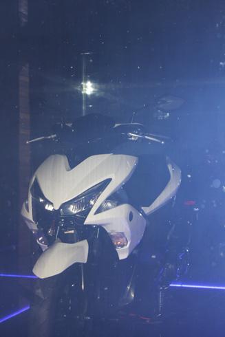 Bản teaser NVX xuất hiện ngày 10/8 tại sự kiện ra mắt xe mới của Yamaha ở TP HCM.
