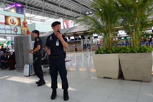 Thái Lan siết chặt an ninh sân bay mức cao nhất