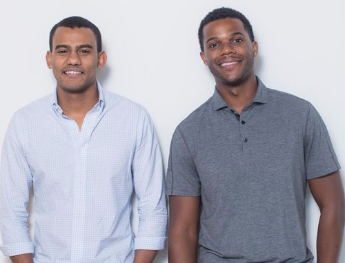 Jopwell cofounders, president Ryan Williams (left) and CEO Porter Braswell