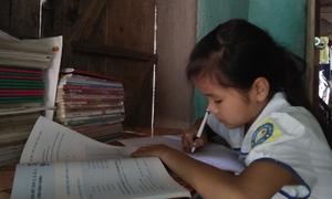 Thắp sáng ước mơ cho cô học trò lớp 4