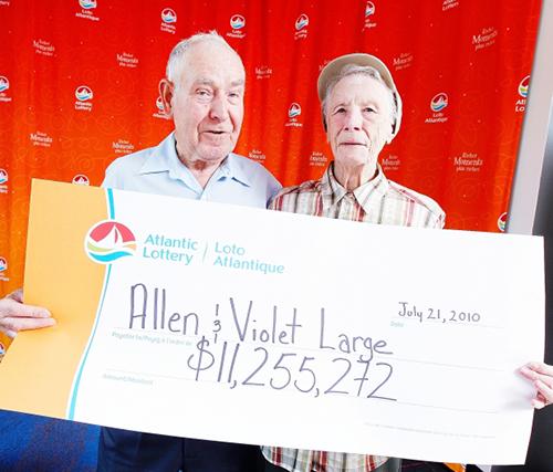 Ông bà Allen và Violet Large, n