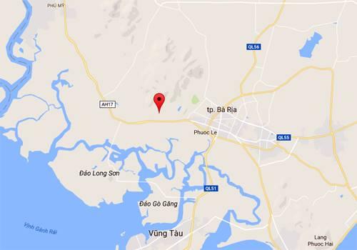 Máy bay trực thăng mất tích ở Vũng Tàu