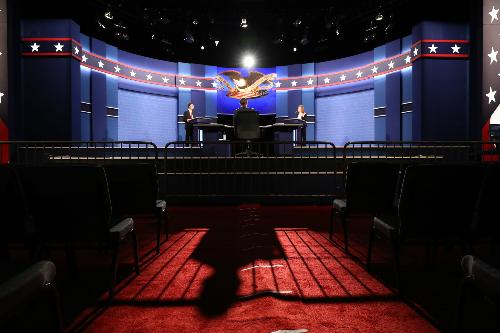 Trump - Clinton chuẩn bị bước vào cuộc tranh luận trực tiếp cuối cùng - ảnh 3