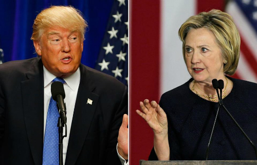 Trump - Clinton chuẩn bị bước vào cuộc tranh luận trực tiếp cuối cùng - ảnh 1