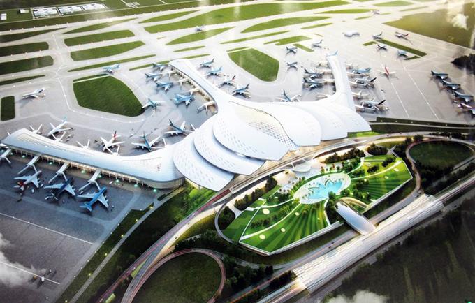 3 Phương án thiết kế nhà ga sân bay Long Thành được đánh giá cao!