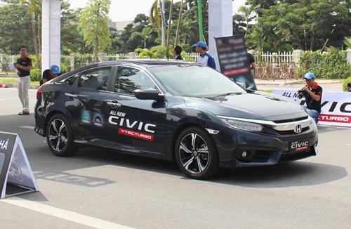 Hình ảnh chi tiết xe All New Civic IVEC Turbo