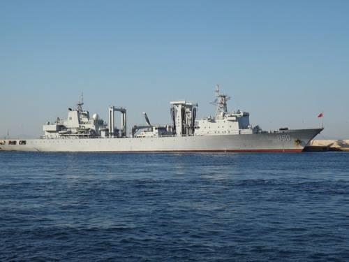 Tàu Sào Hồ tại căn cứ. Ảnh: Shipspotting.