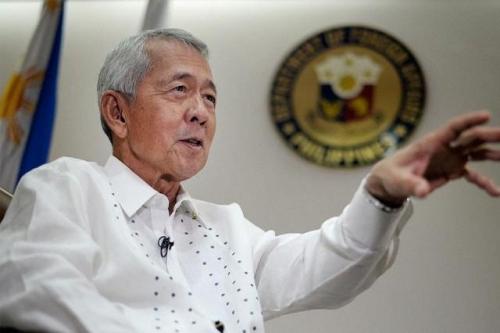 Ngoại trưởng Perfecto Yasay. Ảnh: GMANetwork
