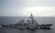 Việt Nam lên tiếng về tàu khu trục Mỹ gần Hoàng Sa
