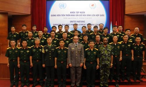 Nữ quân nhân Việt có thể tham gia gìn giữ hòa bình LHQ