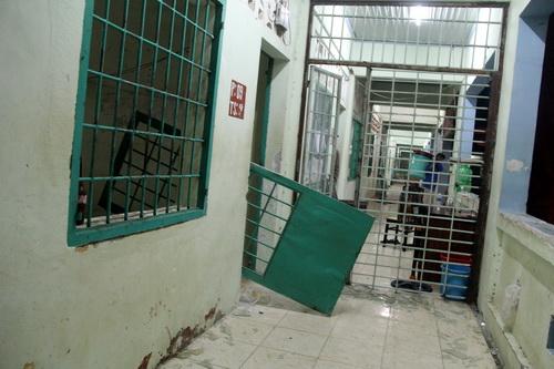 Dãy nhà được cho là nơi khởi nguồn vụ việc kích động trốn trại của hơn 500 học viên cai nghiện Đồng Nai. Ảnh: Phước Tuấn