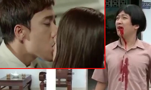 Trường Giang tức ói máu khi thấy Trấn Thành hôn Nhã Phương