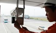 Xử phạt vi phạm giao thông qua camera trên cao tốc Nội Bài - Lào Cai