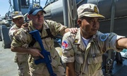 Mỹ - Campuchia sắp tập trận bắn đạn thật trên biển